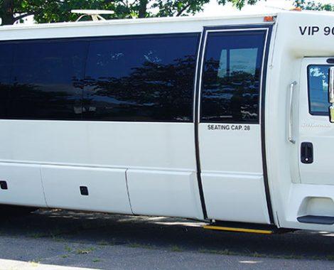 Bills Limo 28 passenger luxury bus